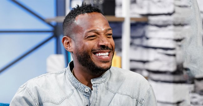 Check Out Marlon Wayans's Only Son, Shawn Showing off His Mustache, Earrings & Cool Afro
