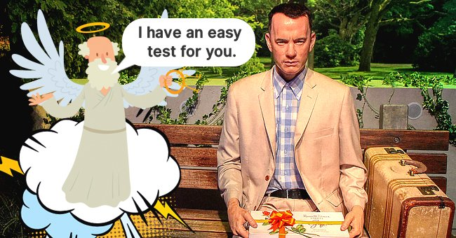 Daily Joke: St. Peter Gives Forrest Gump a Test at the Gates of Heaven