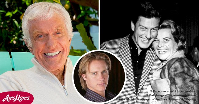 Dick Van Dyke's Handsome Grandson Is All Grown up and Following in Grandfather's Footsteps