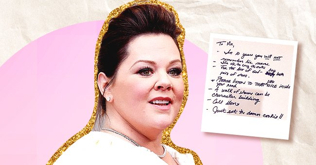 Melissa McCarthy Shares a Note She Wrote to Herself Many Years Ago with Pieces of Advice