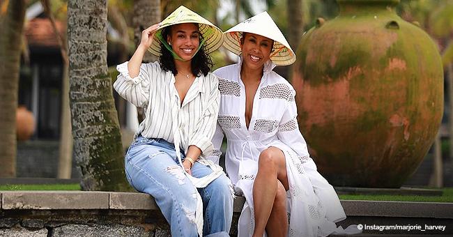 Marjorie & Lori Harvey Recently Enjoyed Epic Trip Around The World