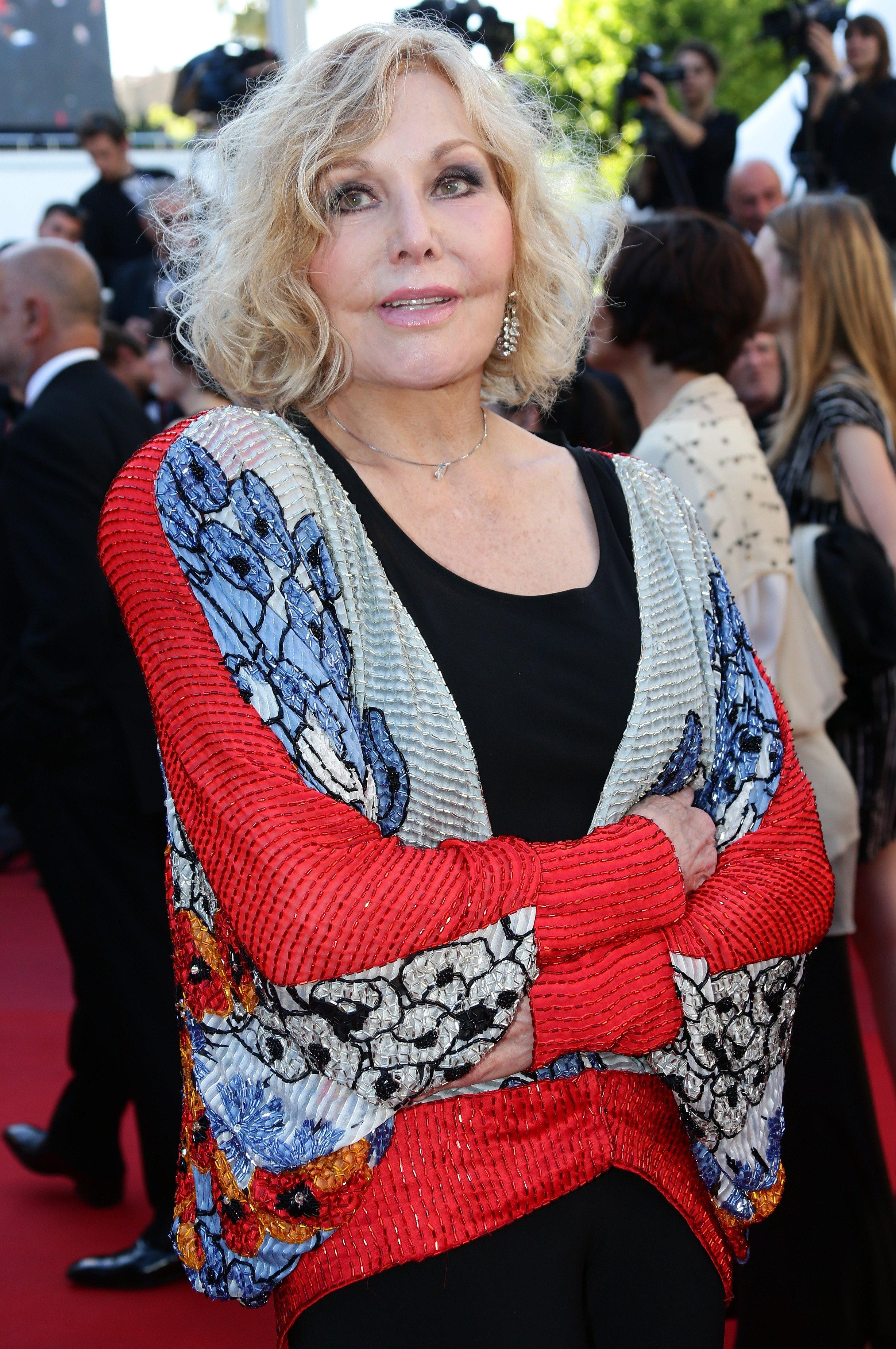 Actress Kim Novak attends the 'Zulu' Premiere and Closing Ceremony during the 66th Annual Cannes Film Festival at the Palais des Festivals on May 26, 2013 in Cannes, France.    Source: Getty Images