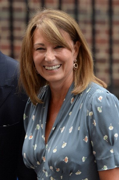 Carole Middleton at the Lindo Wing at St Mary's Hospital on July 23, 2013 in London, England. | Photo: Getty Images