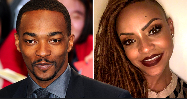 TMZ: Anthony Mackie of 'Avengers' Secretly Called It Quits with Wife & Childhood Sweetheart Sheletta Capital