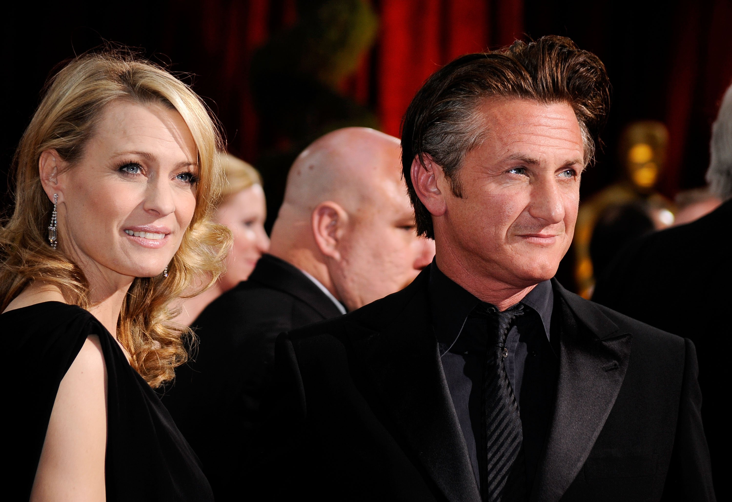 Robin Wright and Sean Penn. I Image: Getty Images.