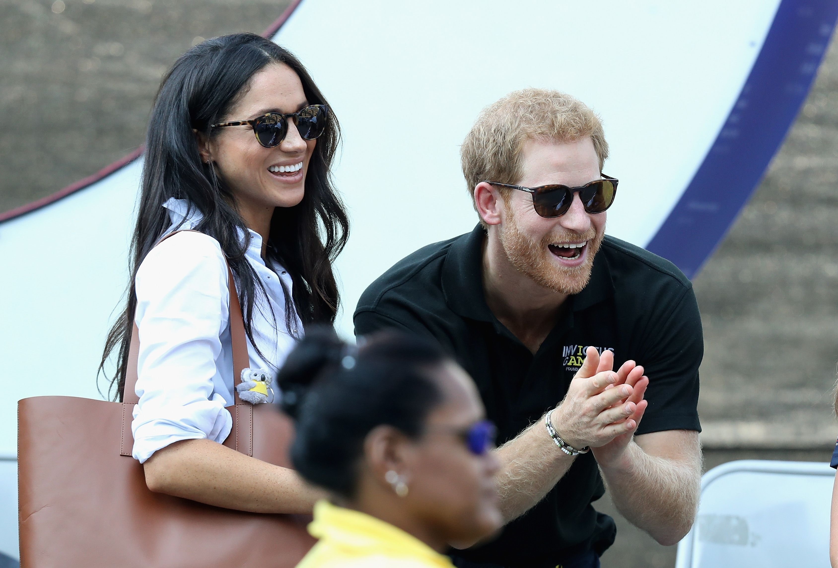 Prince Harry and Meghan Markle at a Wheelchair Tennis match during the Invictus Games 2017 at Nathan Philips Square on September 25, 2017 in Toronto, Canada | Photo: Getty Images
