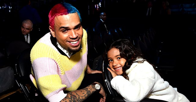 Chris Brown's Daughter Royalty Suffers Slight Head Injury after Trying to Do Spins like Her Dad