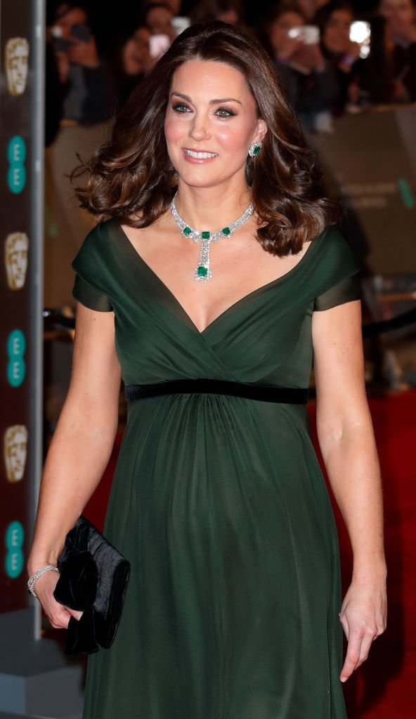 Kate Middleton attends the British Academy Film Awards (BAFTA). | Source: Getty Images