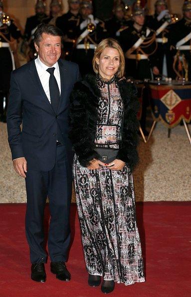 La photo de Christian Estrosi avec sa femme Laura Tenoudji | Source: Getty Images / Global Ukraine