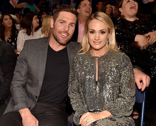 Mike Fisher and Carrie Underwood at the 2018 CMT Music Awards in Nashville, Tennessee. | Photo: Getty Images
