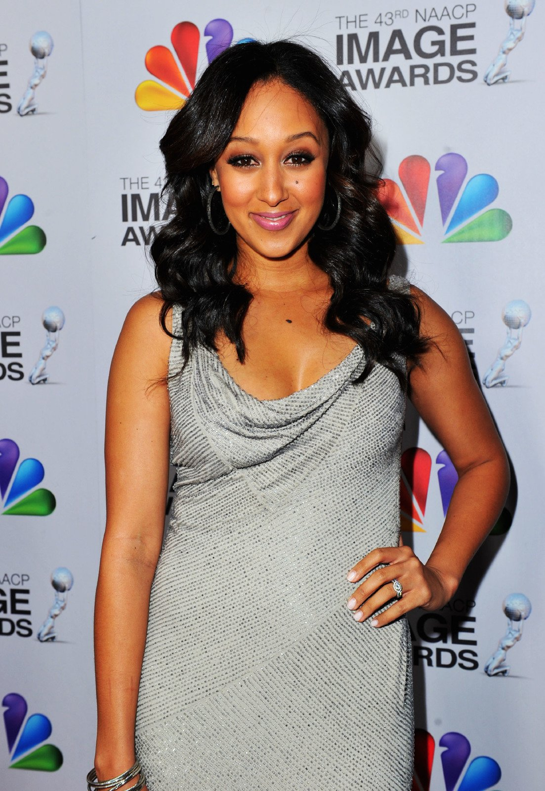 Actress Tamera Mowry-Housley arrives at the 43rd NAACP Image Awards held at The Shrine Auditorium on February 17, 2012 | Photo: Getty Images