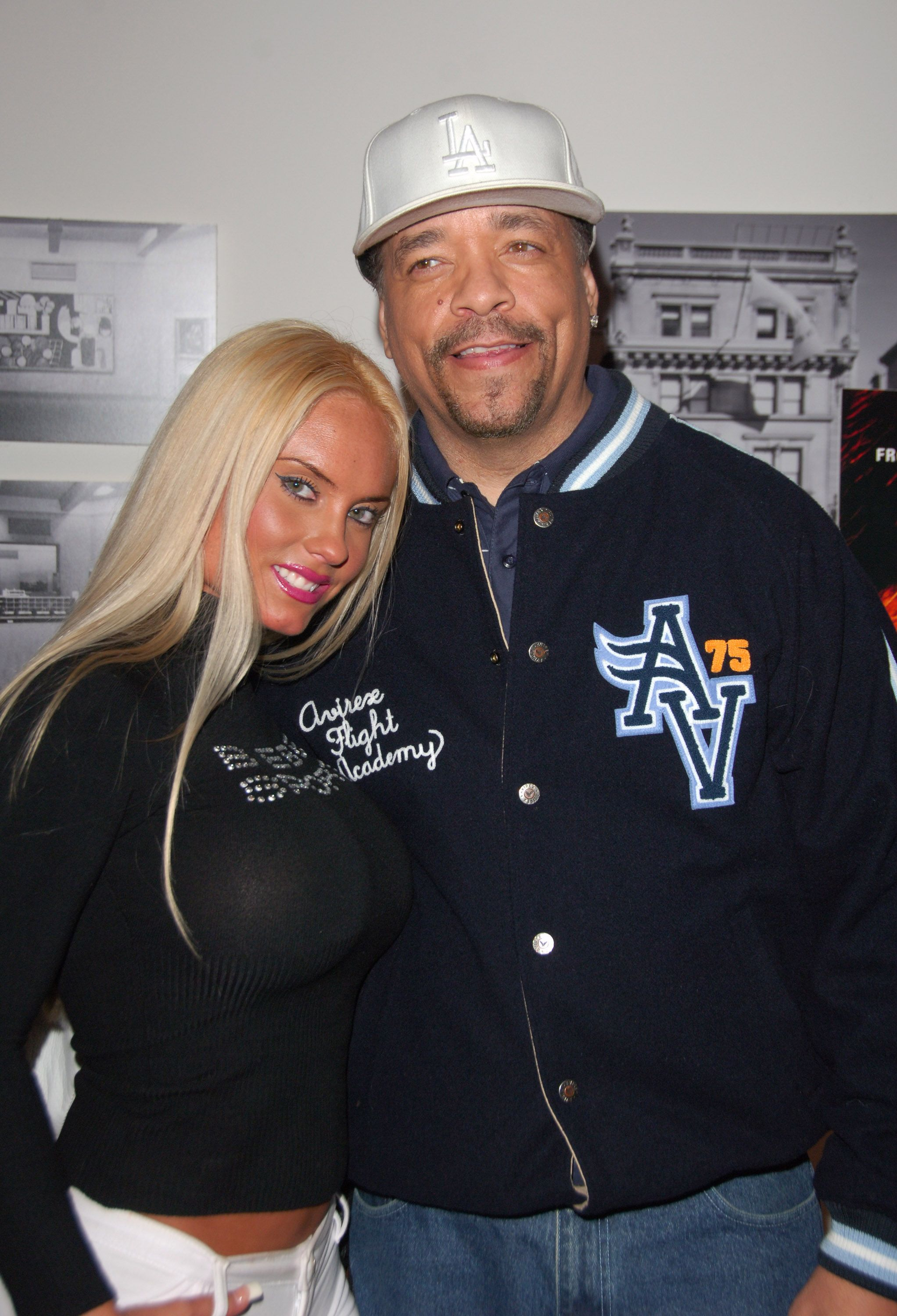 """Coco Austin and Ice-T at the """"Blood Diamond"""" screening at the MoMa in New York City on November 30, 2006.  