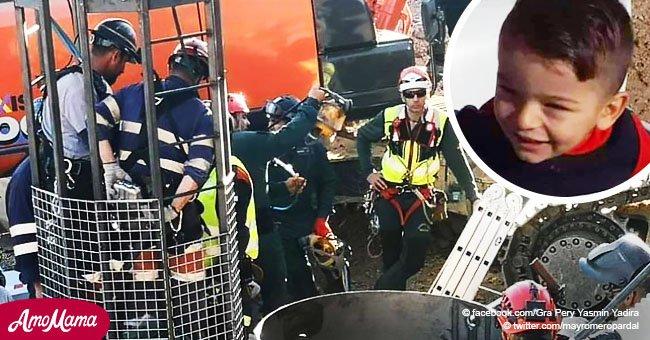 """La """"extrema dureza"""" del terreno para llegar a Julen retrasa el progreso de los mineros"""