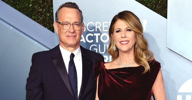Tom Hanks & Rita Wilson Reveal What Their Typical Date Night Looks like at the 2020 SAG Awards