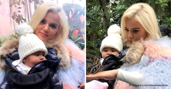 Khloé Kardashian & True Thompson melt hearts during 'magical' date at Cleveland Botanical Garden