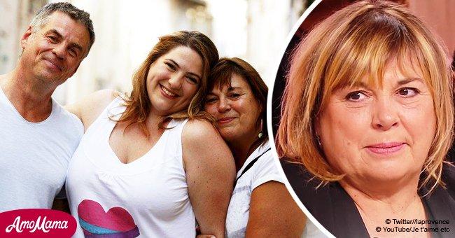 Abandonnée pour une jeune fille, Michele Bernier avoue maintenant qu'elle a eu de la chance