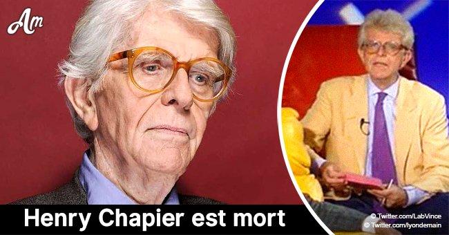 Henry Chapier, le tout premier animateur du Divan, est mort à Paris