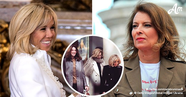 Une blague piquante sur Valérie Trierweiler que Brigitte Macron a faite à son arrivée à l'Elysée