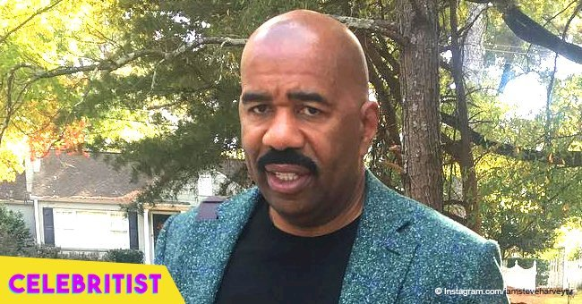 Steve Harvey sparks worry for looking 'sickly' in photo with Magic Johnson