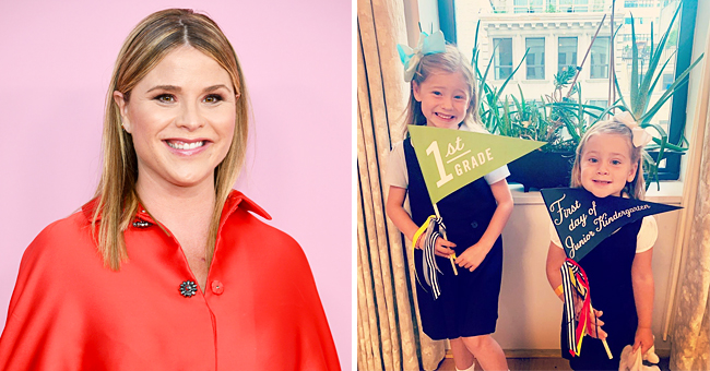 Jenna Bush Hager from 'Today' Shares Pics of Daughters, Poppy & Margaret, Wearing Bows on First Day of School