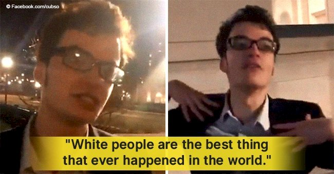 Columbia student who went viral for white supremacist rant speaks up & swears he's not racist