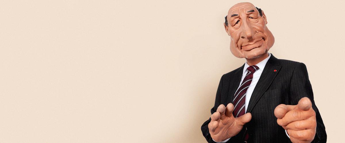 Jacques Chirac : La marionnette des Guignols est volée et mise en vente