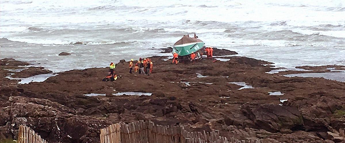 La mort de trois marins après avoir affronté la tempête Miguel dans la Vendée