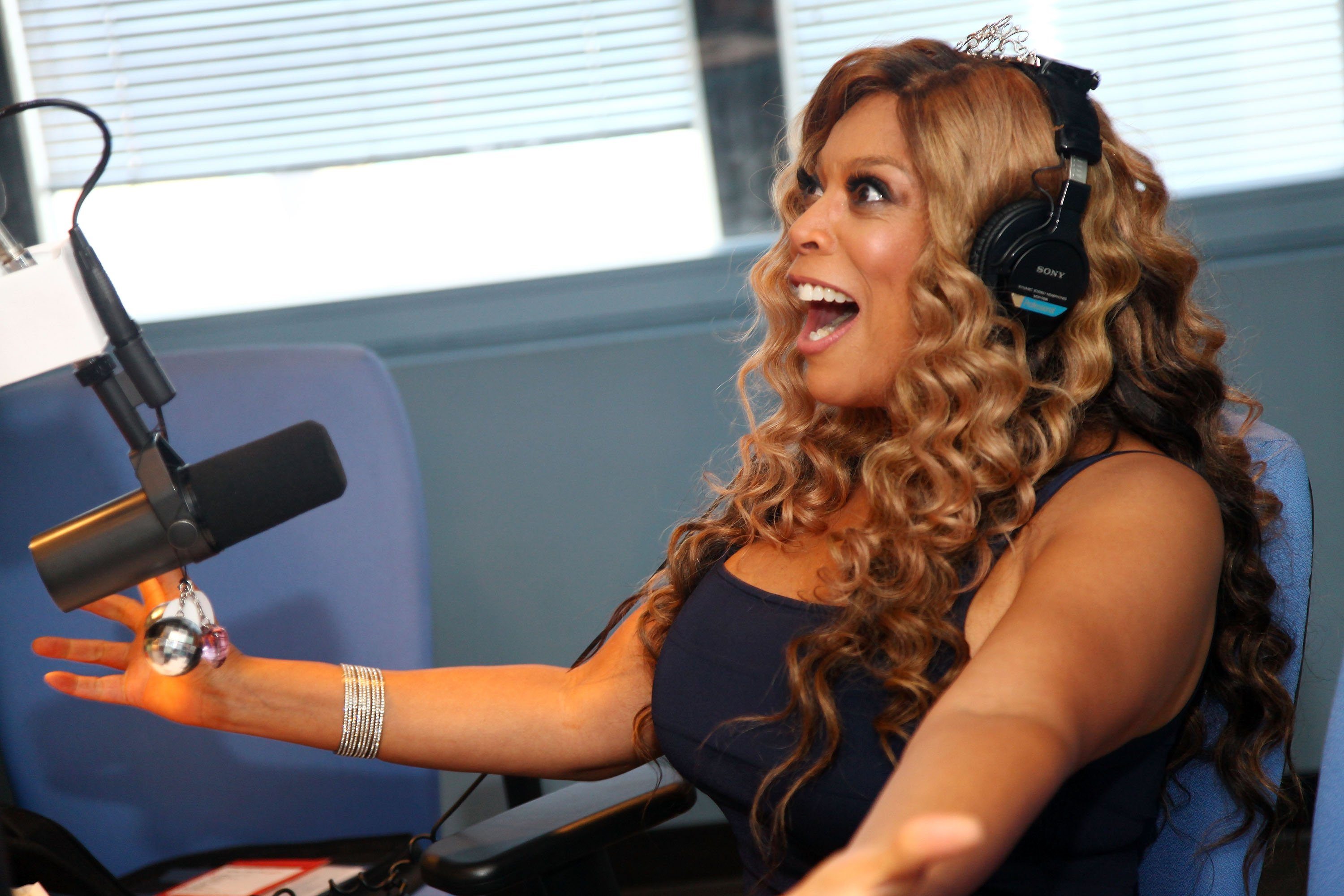 Wendy Williams at WBLS Radio in July 2009. | Photo: Getty Images