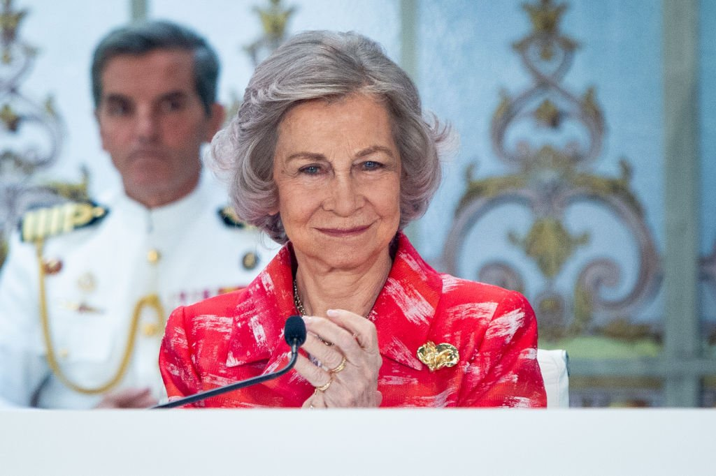 La reina Sofía de España.  Fuente: Getty Images