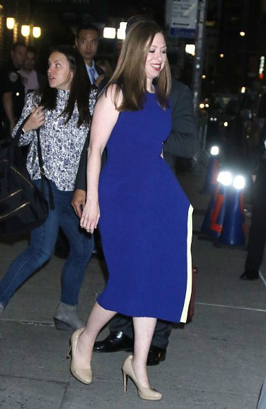 Chelsea Clinton in New York City  on September 30, 2019 | Photo: Getty Images
