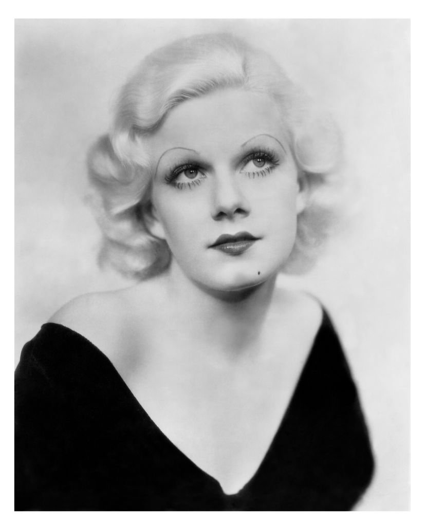 Actress Jean Harlow (1911-1937) in a portrait from the 1930's, United States. | Source: Getty Images