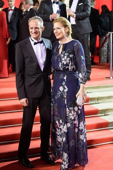 Julia Klöckner, Ralph Gieser, 37. Sportpresseball, Frankfurt am Main, 2017 | Quelle: Getty Images