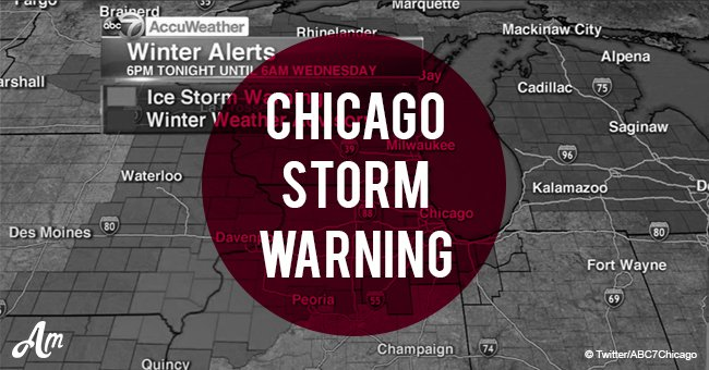 Chicago storm warning: weather conditions deteriorate as ice and freezing rain approaches