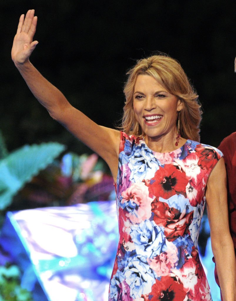 Vanna White attends a taping of the Wheel of Fortune's 35th Anniversary Season at Epcot Center at Walt Disney World on October 10, 2017, in Orlando, Florida. | Source: Getty Images.