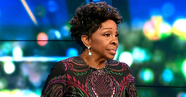 Gladys Knight Defies Her Age in a White Jacket & Pants as She Poses with Kris Jenner in a Photo