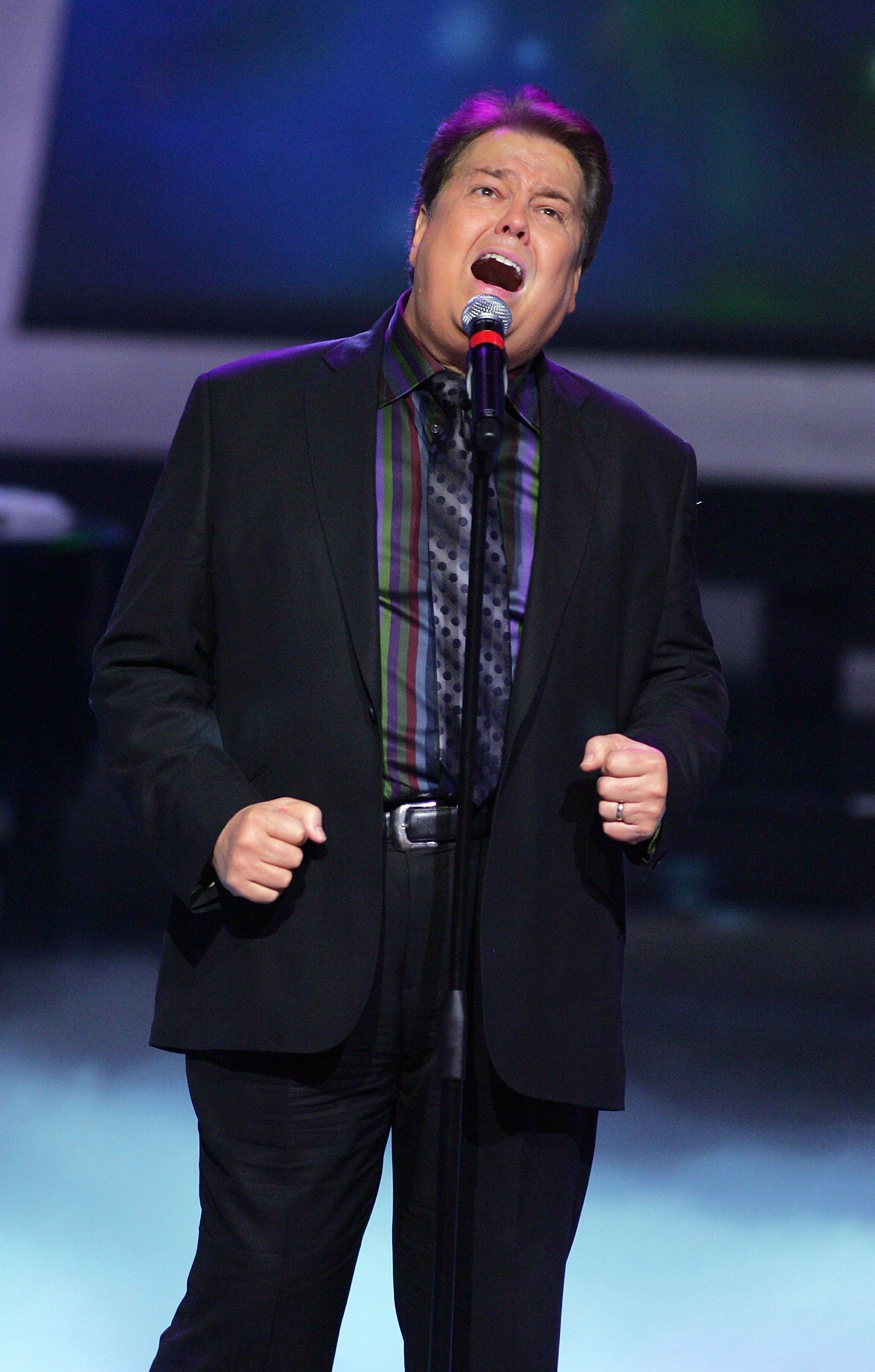 Alan Osmond on August 14, 2007 in Las Vegas, Nevada | Source: Getty Images