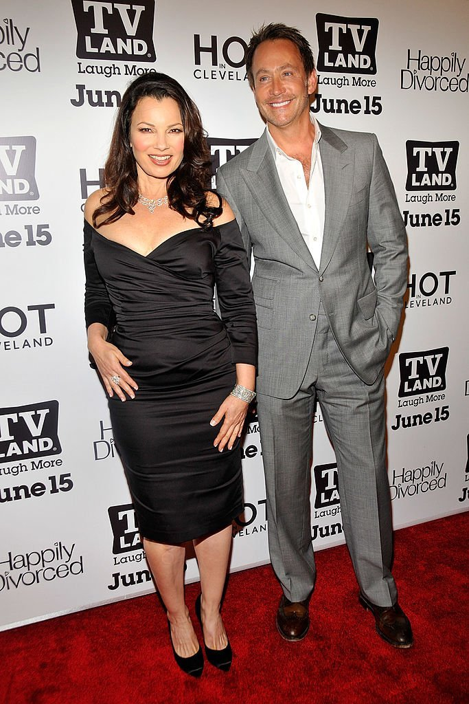 """Fran Drescher and Peter Marc Jacobson attend """"Hot In Cleveland"""" and """"Happily Divorced"""" premiere on June 13, 2011 