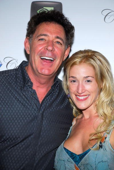 """Barry Williams and Elizabeth Kennedy arrive at the 2nd Annual """"All In For The Kids"""" benefit celebrity poker tournament at the Crystal Casino on September 22, 2007, in Los Angeles, California. 