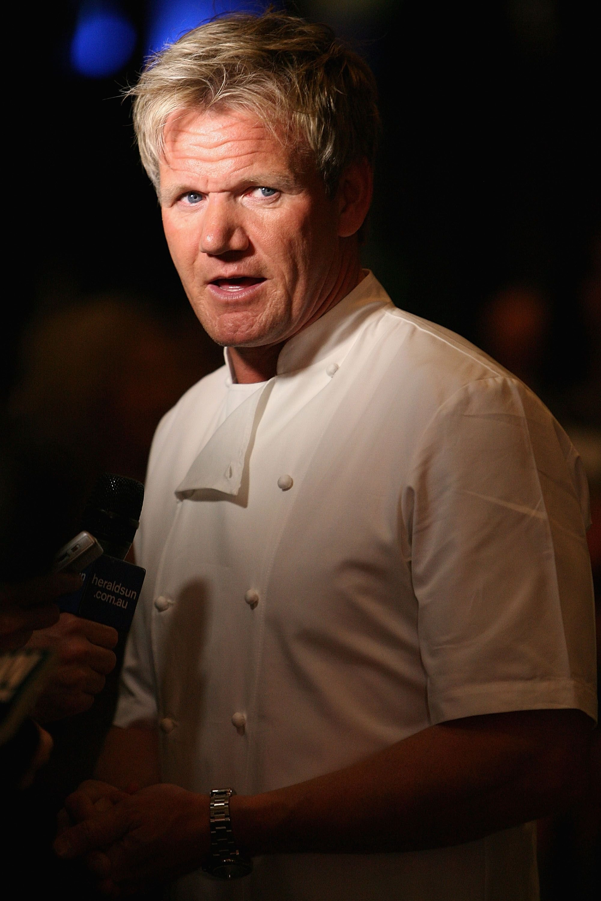 Gordon Ramsay during the opening party of the Crown Metropol hotel on April 21, 2010 in Melbourne, Australia.   Source: Getty Images