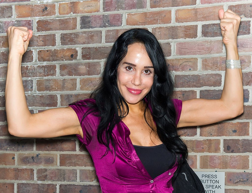 Nadya 'Octomom' Suleman seen outside Fox 29 Studios  | Getty Images