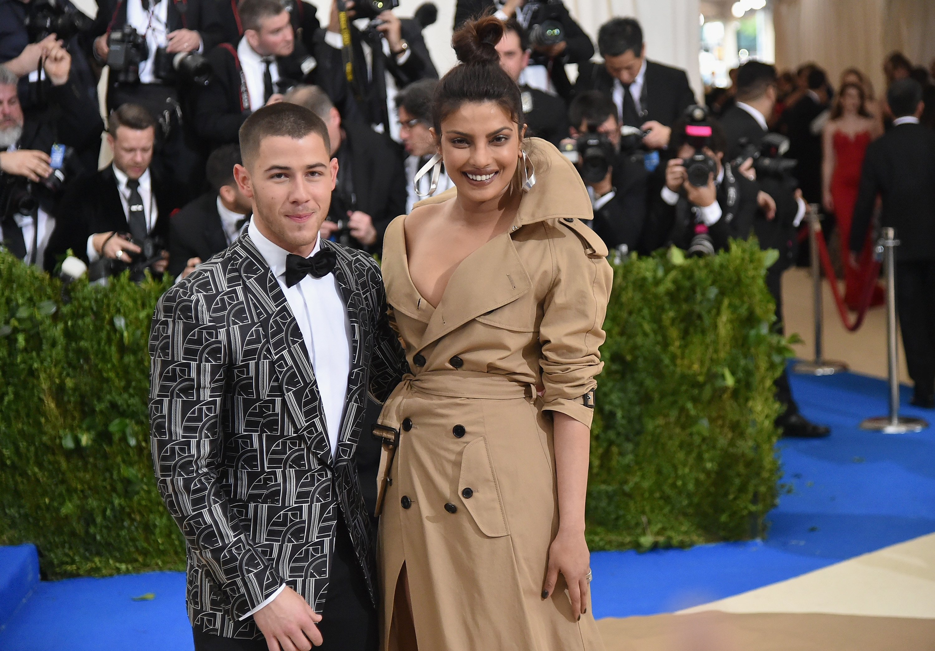 Nick Jonas and Priyanka Chopra attend the Costume Institute Gala in New York City on May 1, 2017 | Photo: Getty Images