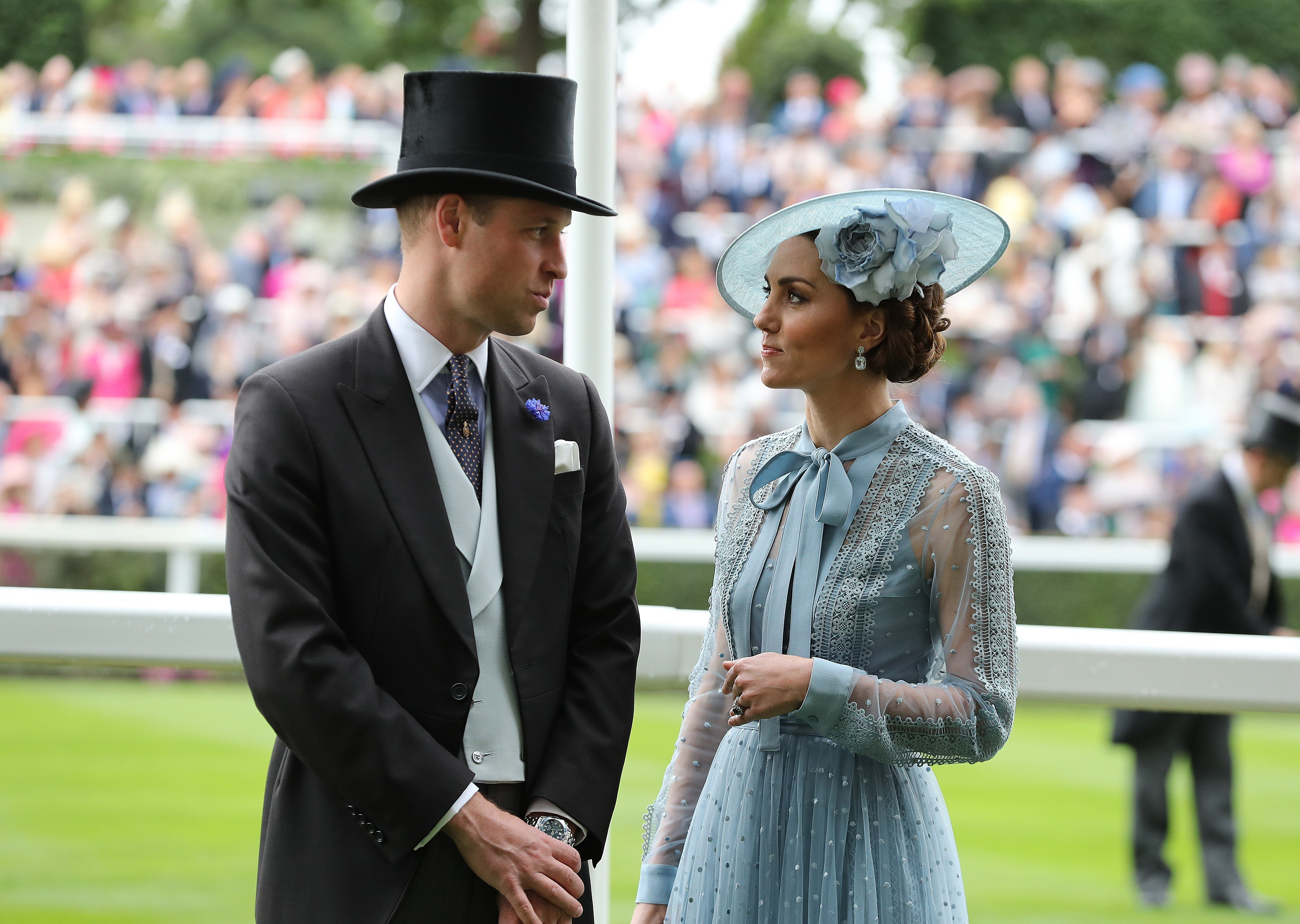 Prince William et Duchesse Kate au Royal Ascot | Photo : Getty Images