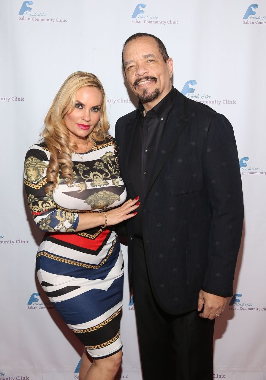 Coco Austin and Ice-T attend Friends of The Saban Community Clinic's 42nd Annual Gala at The Beverly Hilton Hotel in Beverly Hills, California | Photo: Getty Images