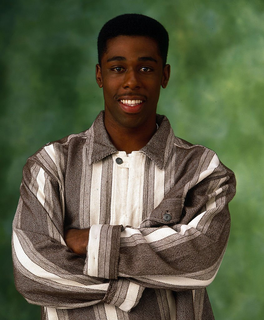 """Shawn Harrison on the set of """"Family Matters"""" on August 08, 1994 