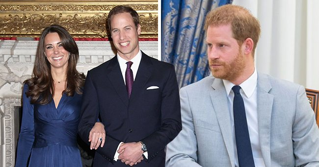 Prince Harry Generously Gave the Engagement Ring He Inherited from Princess Diana to William