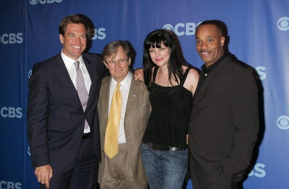 McCallum and the NCIS cast. Source: Getty images