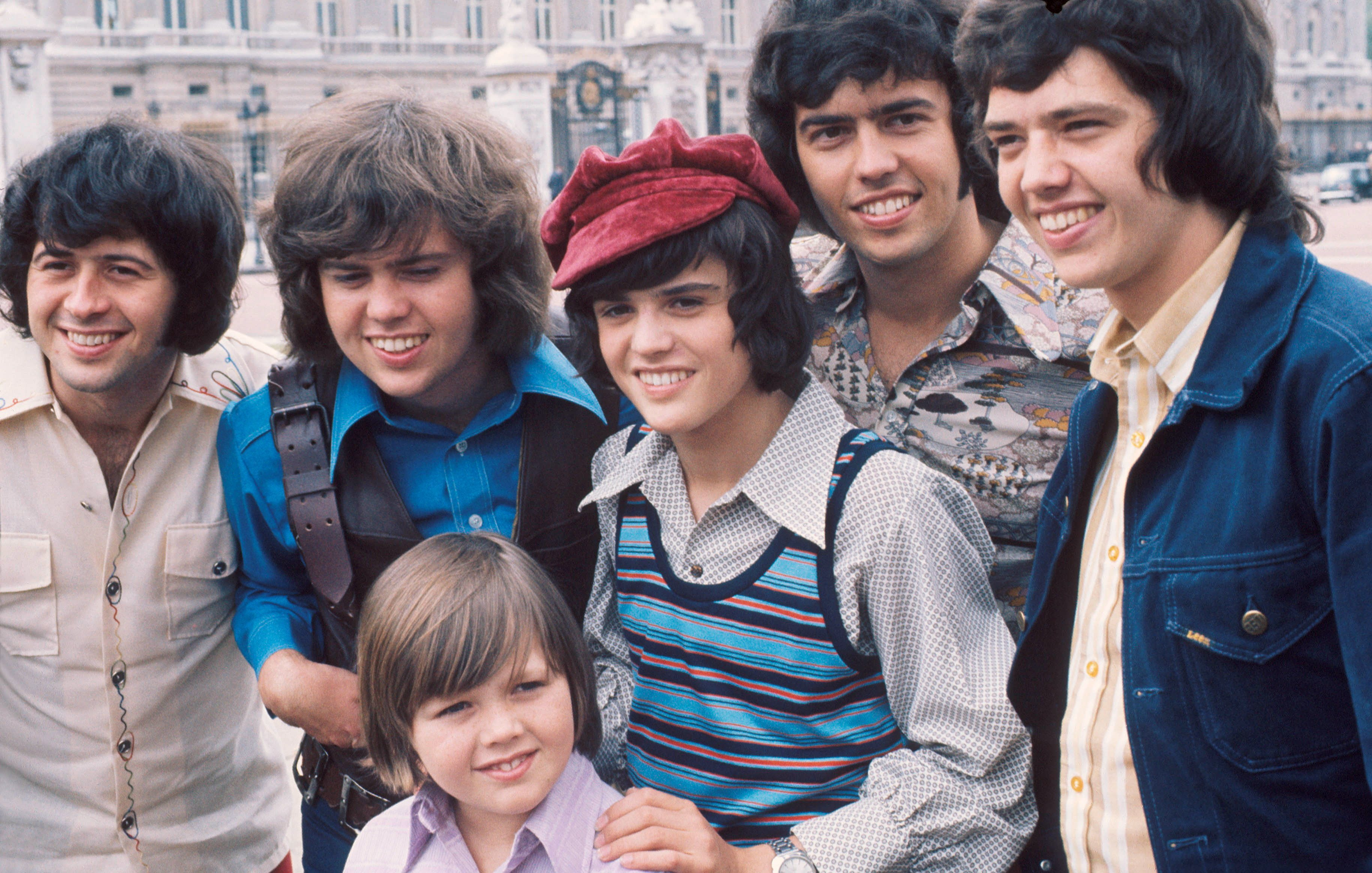 The Osmond Brothers take a group portrait in London in 1973   Photo: Getty Images