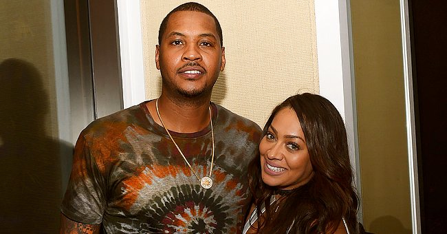 La La Anthony Dotes on Her Teen Son Kiyan as She Posts a New Photo of Him Chilling with a Dog