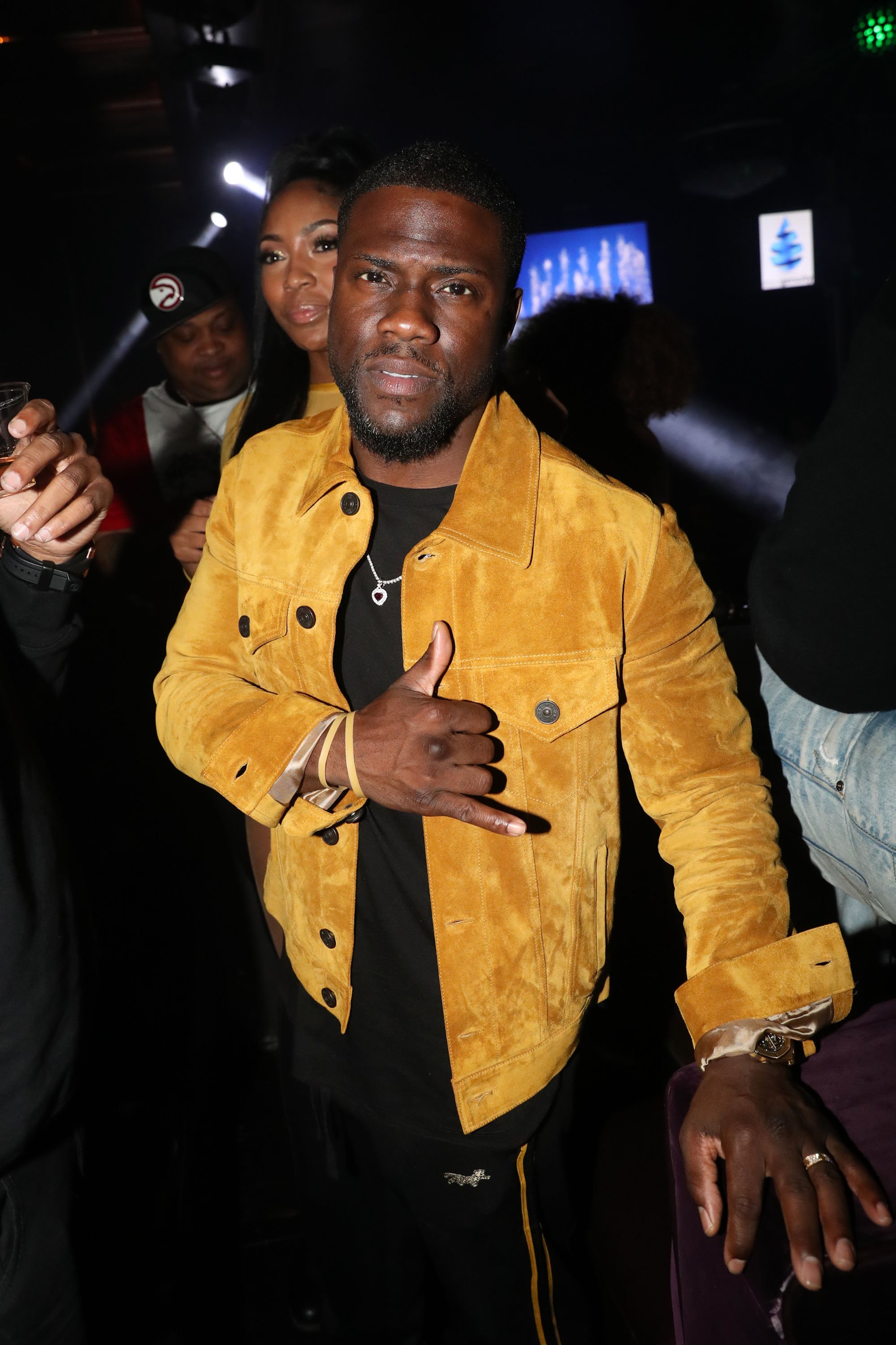 Kevin Hart co-hosts The Big Game Day Party on Feb. 2, 2019 in Atlanta, Georgia | Photo: Getty Images