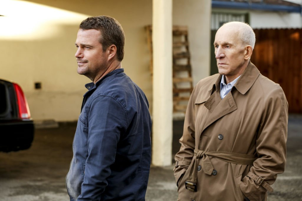 "Chris O'Donnell and Daniel J. Travanti on ""NCIS: Los Angeles"" in 2017 